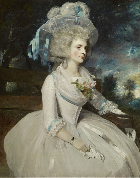 Selina, Lady Skipwith by Sir Joshua Reynolds, 1787 England, the Frick Collection Giant image