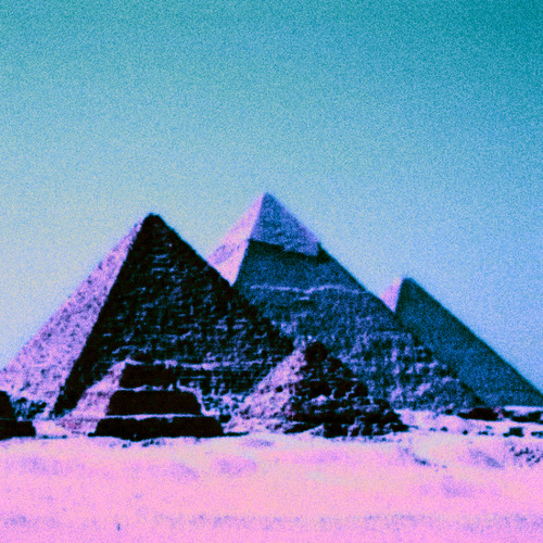 cosmic-ketamine:  Purple Pyramids.