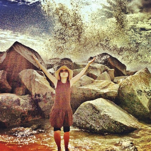 """And The Water Shall Rise!"" (Taken with Instagram at Venice Beach)"