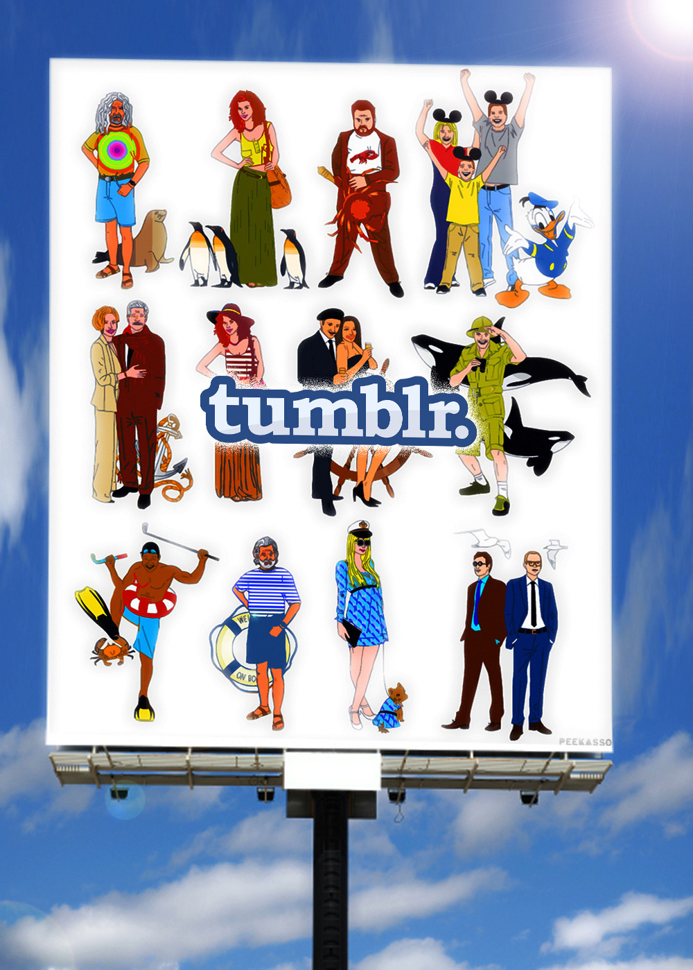peekasso:  Tumblr is so addictive because it's simulating human contact.