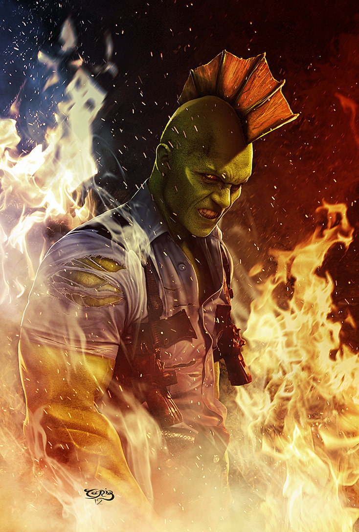 Savage Dragon by Tariq Raheem Artist: deviantart / website