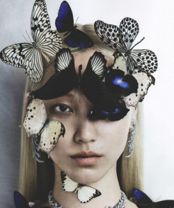 somethingvain:  soo joo by kevin macintosh for vogue italia october 2012