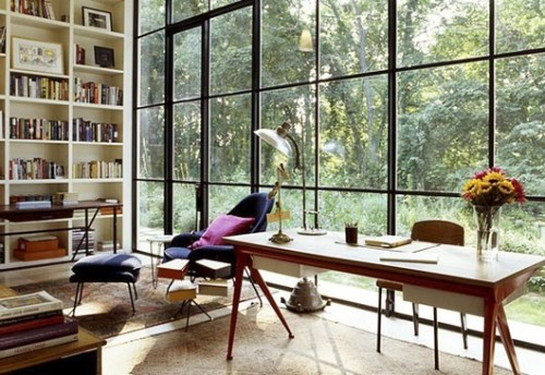 detailsorientedbyshapepluspace:  office / library