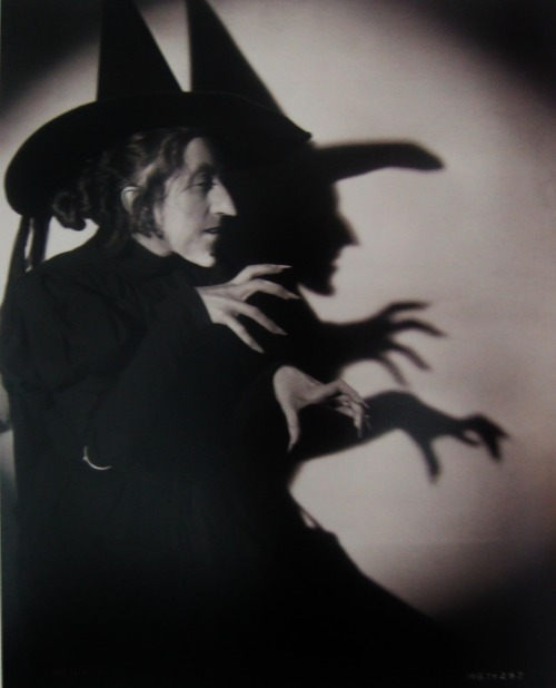 bogarted:  Margaret Hamilton as The Wicked Witch of the West