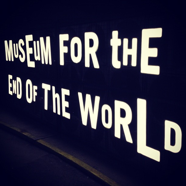 Museum for the End of The World. #nuitblanche #snbto #snb2012 #art (Taken with Instagram)