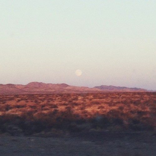 #mohave desert moon (Taken with Instagram)