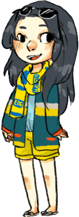 spacegravity:  turns out i like stripey cardigans