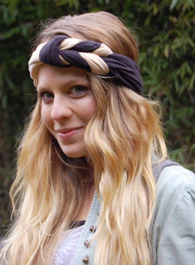 littlecraziness:  (via aquí: heres how: woven headband)