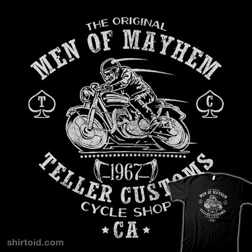 Teller Customs by CoDdesigns is available at Redbubble