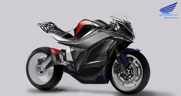 Greatest Bike Concept Ever — The Honda EV RR by Arnau Sanjuan Roman