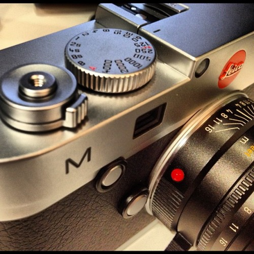 noktonlux:  The New Leica M ! #leica (Taken with Instagram at Leica Ginza Salon)
