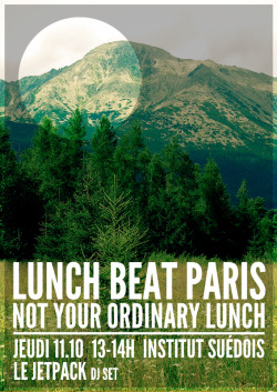 LUNCH BEAT PARIS #2 @ Institut Suédois