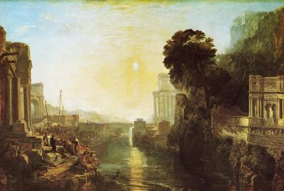 JMW Turner 'Dido building Carthage' 1815