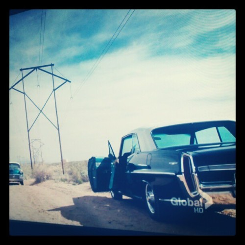 real american ride #pontiac in pilot #vegas s1e1 (Taken with Instagram)