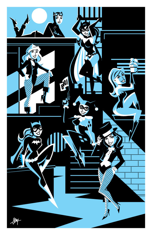 Gotham Girls by Cal Slayton