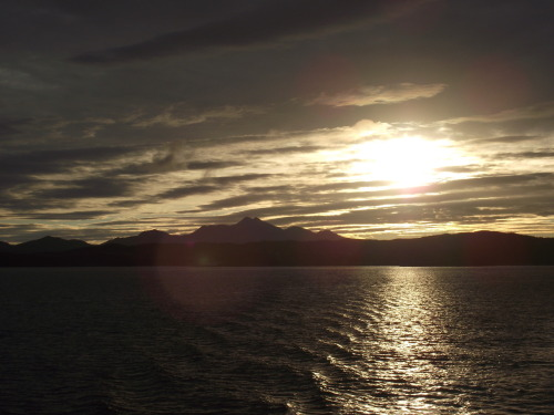 Sunrise over Ben Cruachan on the ferry over to Mull from Oban. Definitely one of the highlights of an immense (-ly tiring) trip! Sad to be back, especially with no current plans to get back up to the highlands.  But I saw some excellent geology and had a great time helping the wee second years find their feet in the field!
