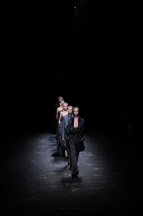 "i-donline:  Haider Ackermann. Paris, 29/09/12 ""It's always personal with Haider"" Tilda Swinton explains backstage to i-D online. More here. See all of our womenswear (SS13) coverage here. i-Donline.com"