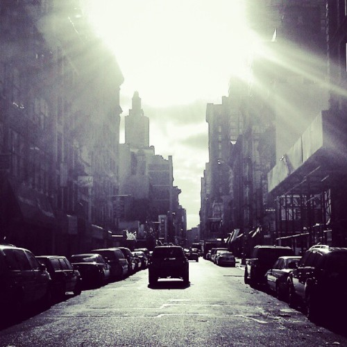 It's a new dawn, it's a new day… (Taken with Instagram at 27th st bw 7th & 6th ave)