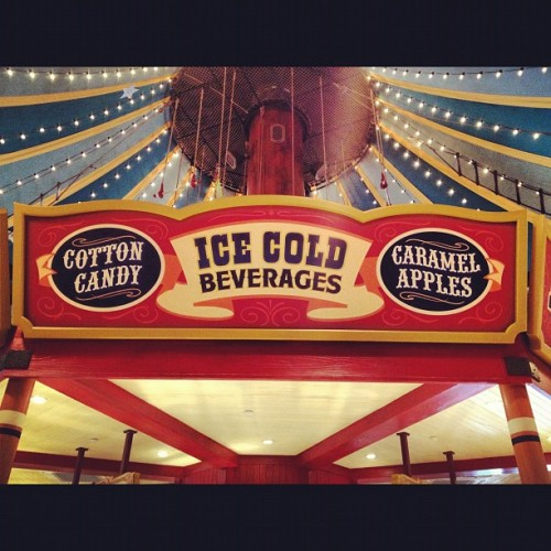 Ice Cold Beverage #bigtopsouvenirs #storybookcircus #bigtoptreats #tent #circus #magic #magickingdom #disney #disneyland #waltdisneyworld #wdw  (Taken with Instagram)