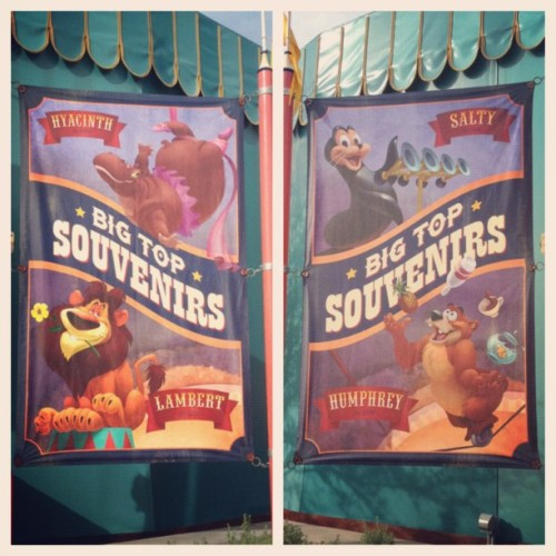 Storybook Circus Poster #storybookcircus #circus #poster #magic #magickingdom #disney #disneyland #waltdisneyworld #wdw  (Taken with Instagram)