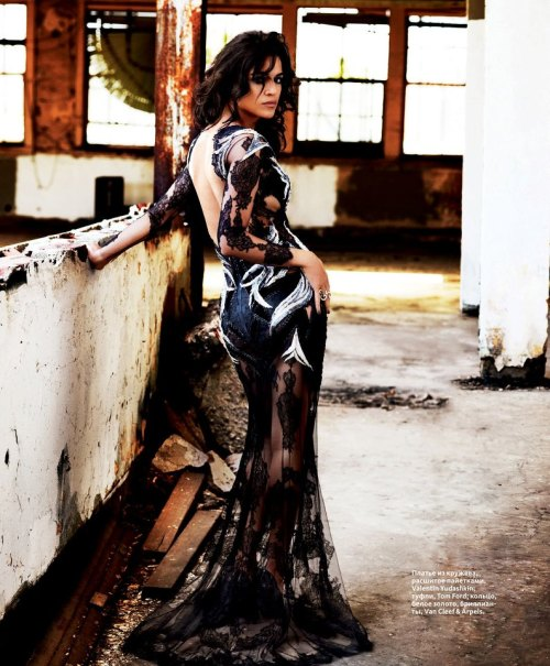 extrasexy:   Michelle Rodriguez for InStyle, Russia, September 2012
