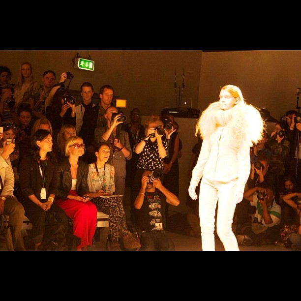 #amazing #moments made this #lfw sept #2012 #london #fashion #stylist #charliefi  (Taken with Instagram)