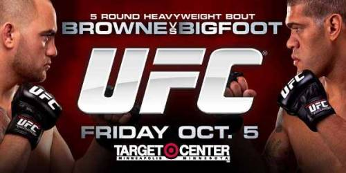 UFC on FX Browne vs. Bigfoot