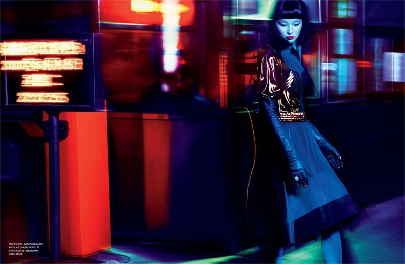 Miao Bin Si Photographed by Txema Yeste for Numero China 2012