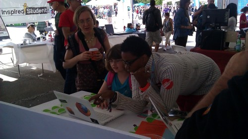 Making more webmakers at Maker Faire