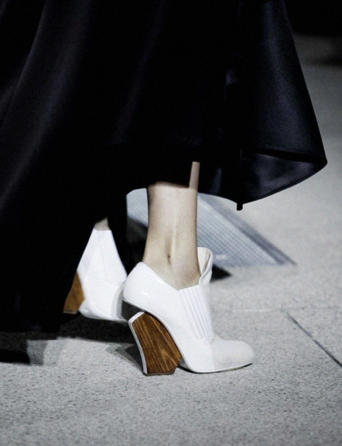 Shoes at John Galliano Spring/Summer 2013