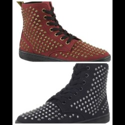 I've decided I need these studded @drmartens in my life. Should I go for the black or the red? Can't decide   (Taken with Instagram)
