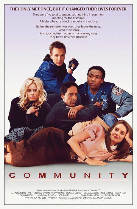 communitynbc:   A brain, a beauty, a jock, a rebel and a recluse.