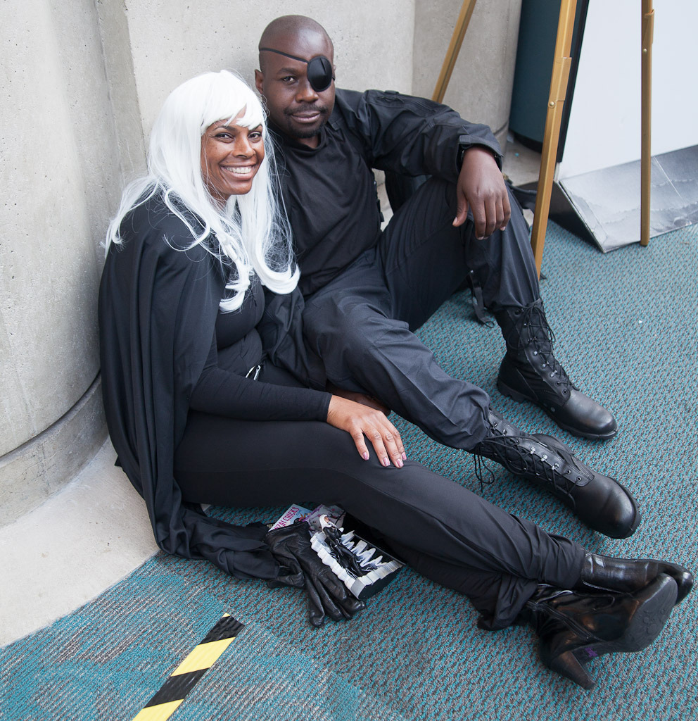 X Characters: Storm & Nick Fury Series: Marvel Comics
