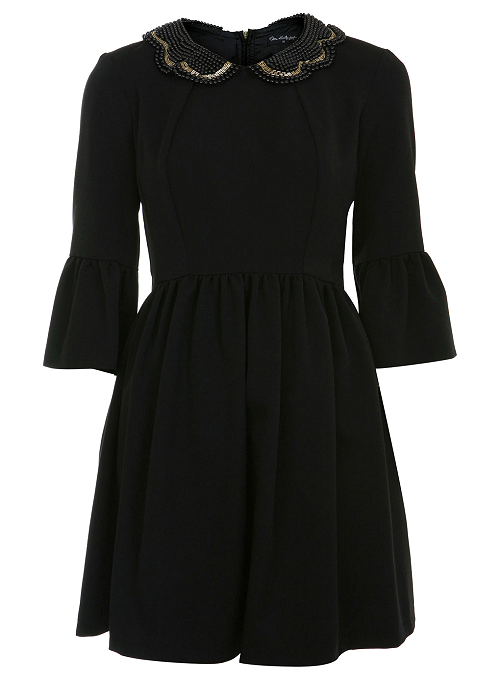 heartxstreet:  £ BUY Embellished Collar Dress / Miss Selfridge / £47