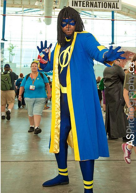 gailsimone:  cosplayingwhileblack:  X Character: Static Shock Series: DC Comics  Go, Virgil! Ever since I found out he is one of @megabee's favorites, it's been a test of willpower not to reblog everything Static Shock #comics #cosplay