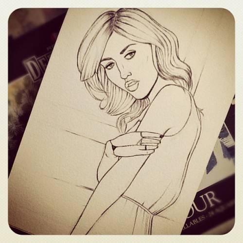 Charlotte Free VI (unfinished) (Taken with Instagram)