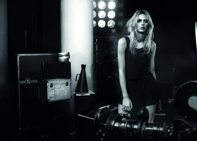 Andrej Pejic for Ilvian Heach fall-winter 12-13 by Giampaolo Sgura/