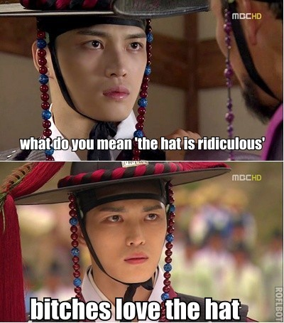 Jaejoong does not understand your aversion to The Hat