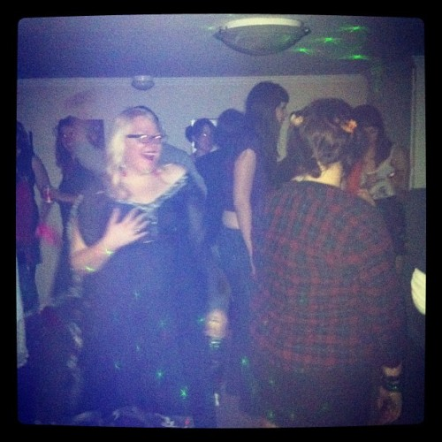Dance party in my room (Taken with Instagram)