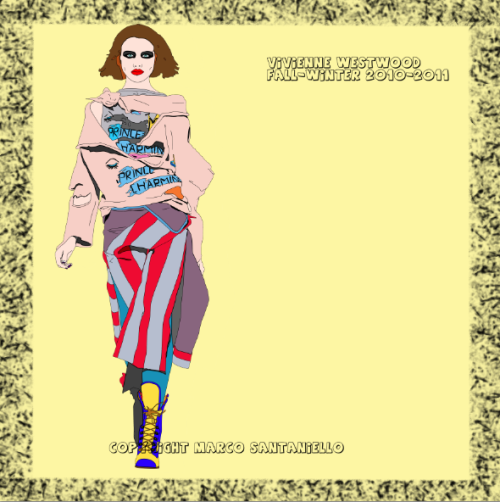 FASHION POP BOX N.9 VIVIENNE WESTWOOD FALL-WINTER 2011/2012   GRAPHIC BY SUPERSTAR MARCO SANTANIELLO INSTAGRAM AND TWITTER: SUPERSTARMIX
