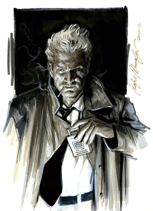 dcplanet:  John Constantine Commission by felipemassafera DC Fan Arts #19