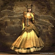 oakcat:  Steampunk Fairy.