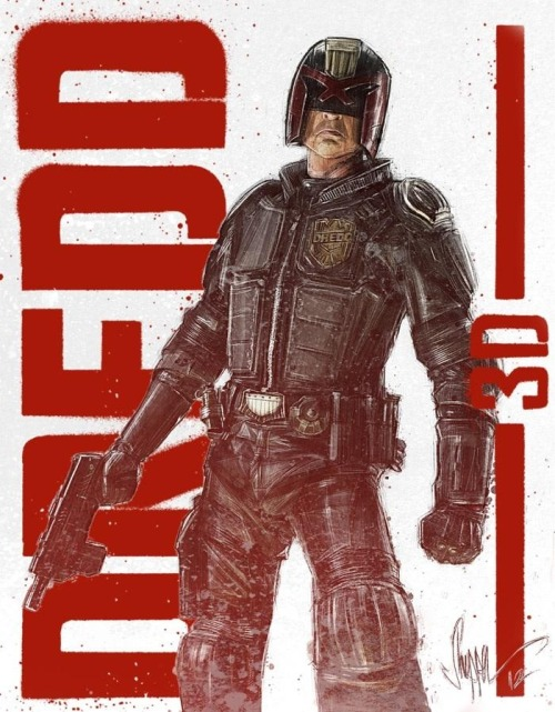 Dredd 3D by Paul Shipper
