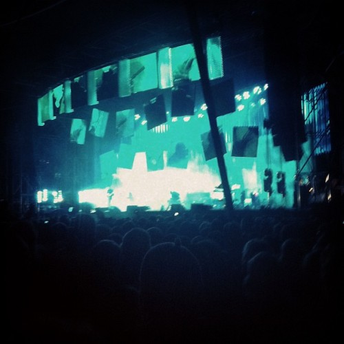 Radiohead (Taken with Instagram at Kindl-Bühne Wuhlheide)