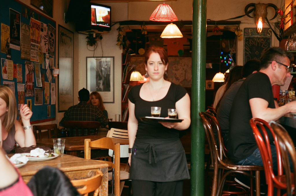 Banners waitress