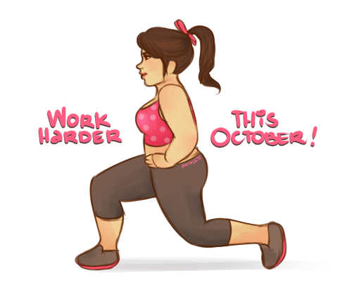 arthlete:  I seriously can't believe it's October already. Where did those nine months go? :O
