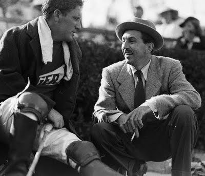 Spencer Tracy and Walt Disney