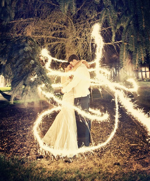 Sometimes we secretly think that sparklers were invented for the sole purpose of making awesome photos. Better yet, Photojojo has a guide to help you make rad photos like this one by Belle Rempert! The Photojojo Guide For Long Exposure Sparkler Photos! via Pinterest