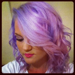 welovepastelhair:  I love Lilac