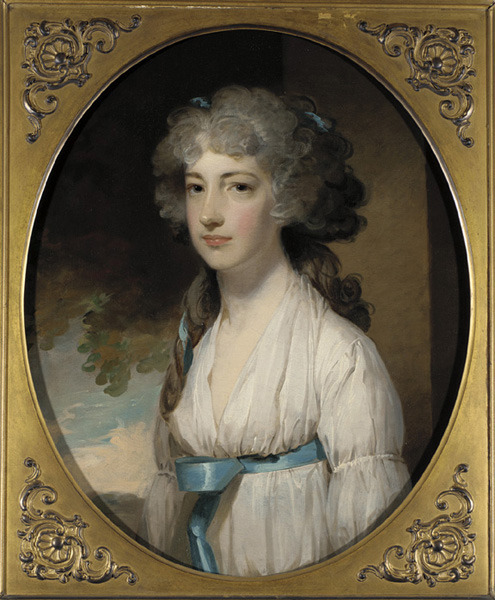 Elizabeth Beale Bordley by Gilbert Stuart, ca 1797 US, Pennsylvania Academy of the Fine Arts